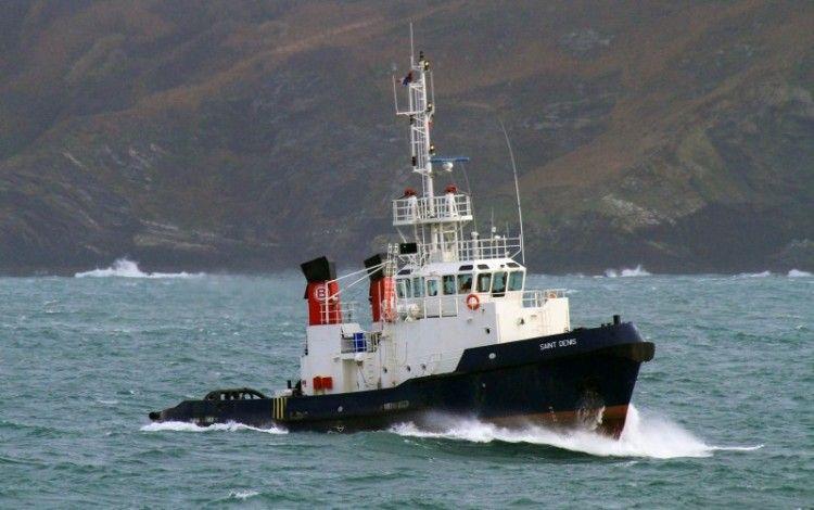 """Estampa marinera del remolcador """"VB Albatros"""""""
