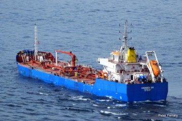 "El petrolero ""Gibunker 100"", de Peninsula Petroleum"