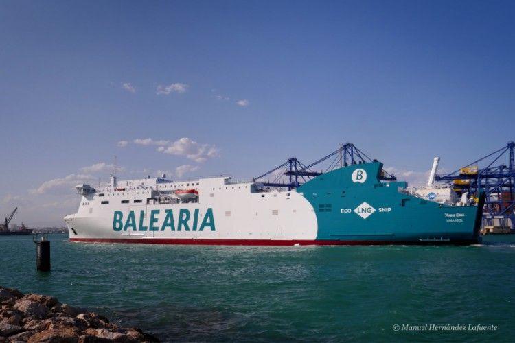 Balearia ha hecho una apuesta decidida por el gas natural