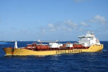 """Stolt Inspiration"", buque de pruebas del biocombustible marino"