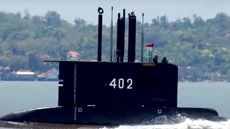 "Vela del submarino KRI ""Nanggala"" (402)"