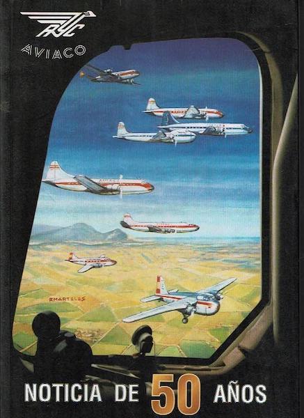 Portada del libro de Aviaco
