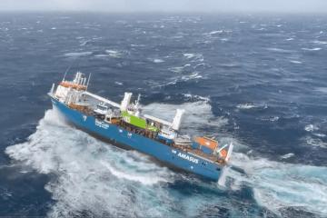 Toda la tripulación del buque holandés ha sido evacuada