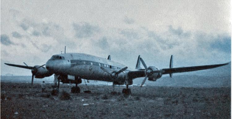 El avión se había estrenado en 1956 con Air France