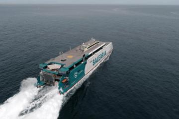"""""""Eleanor Roosevelt"""", el nuevo catamarán de Balearia"""