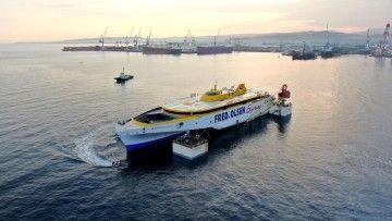"""El nuevo """"Bañaderos Express"""" flota por primera vez"""
