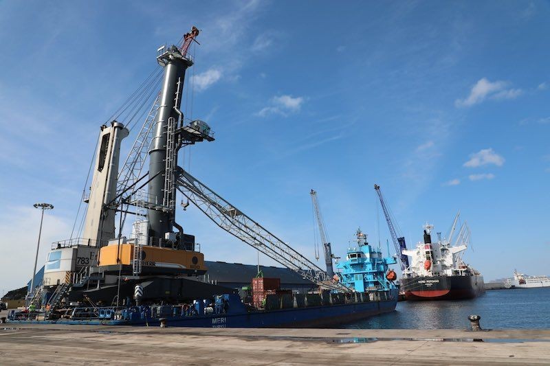 El puerto de Cartagena incrementa en un 20% su capacidad operativa en graneles