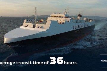 El puerto de Tánger Med promociona la línea de Barcelona en 36 horas