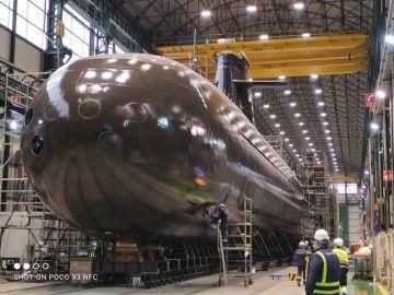 "El primer submarino de la serie S-80 es el S-81 ""Isaac Peral"""