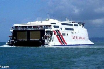 "El catamarán ""T&T Express"" (Incat 046) está desaparecido desde esta semana"