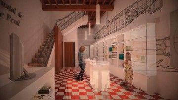 Así será la planta baja del museo de Isaac Peral