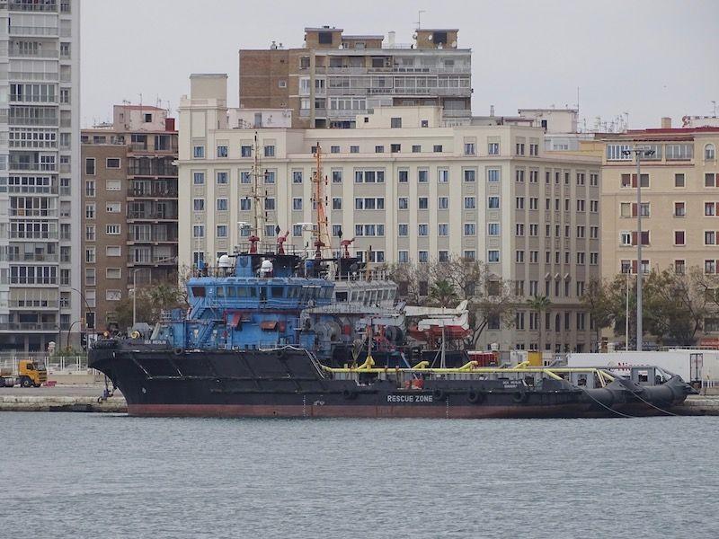 Ambos buques han conocido cambios de nombre durante su estancia en Málaga