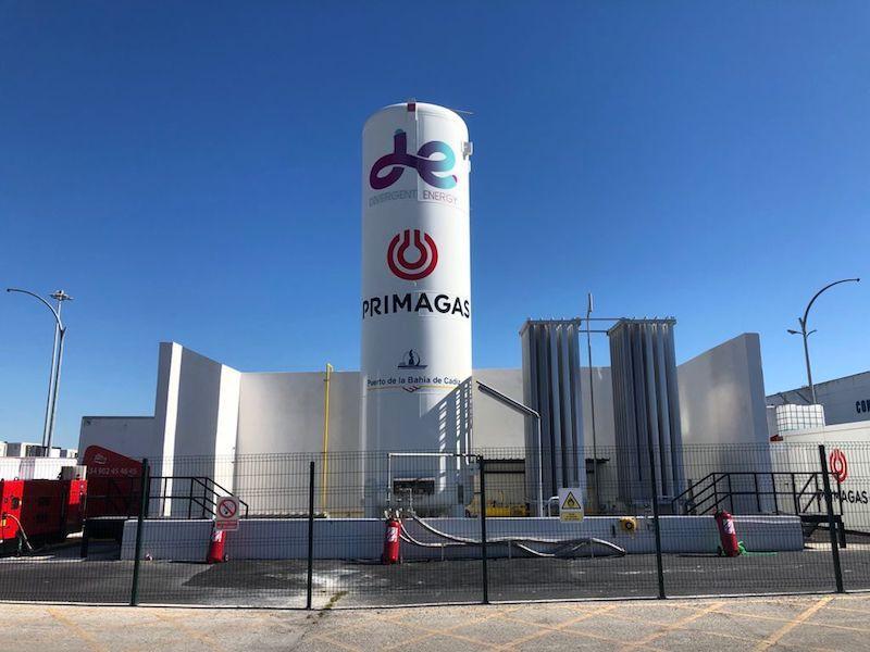 Instalación de Primagas en el puerto de Cádiz