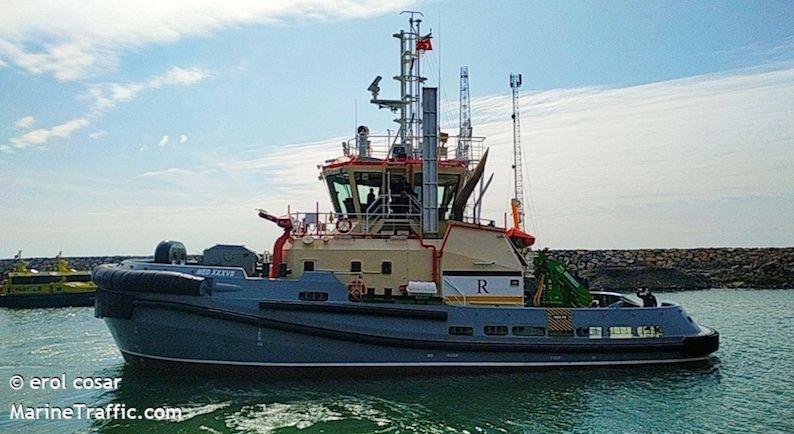 El nuevo remolcador de Regisa construido en Turquía