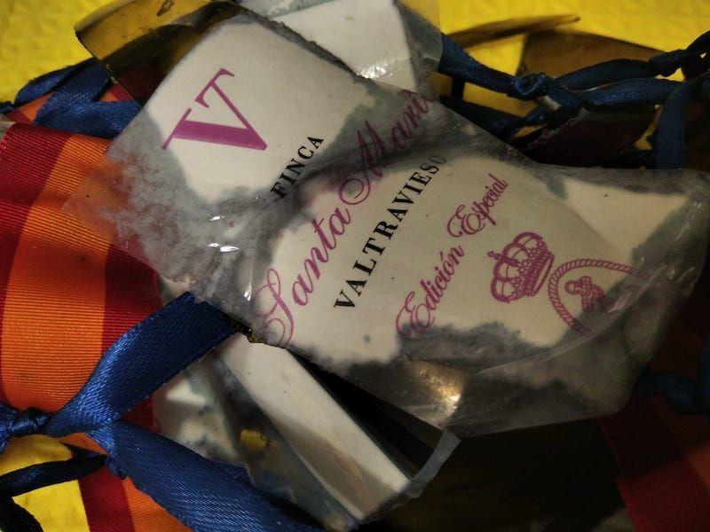 La etiqueta de la bodega Valtravieso de Ribera del Duero