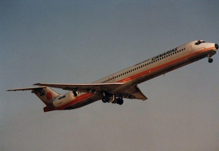 """Primer avión MD-83 de LAC """"Isla de Lanzarote"""""""