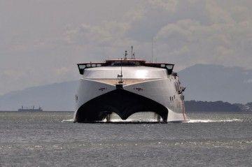 """No hay noticias del catamarán """"T&T Express"""" adquirido por Trasmapi"""