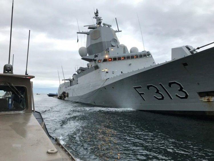 La fragata accidentada fue construida en Navantia Ferrol