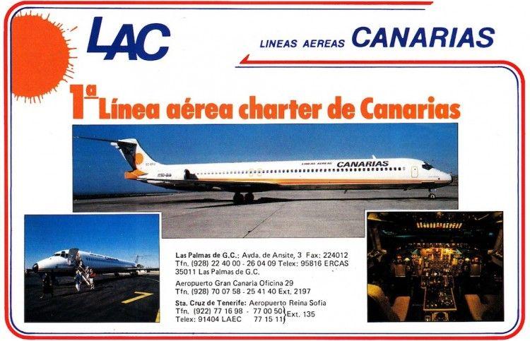 Publicidad de LAC en 1988