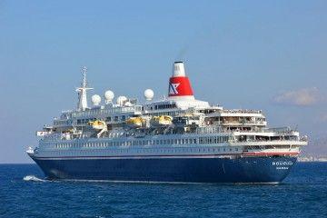 "Elegante estampa marinera del buque ""Boudicca"""