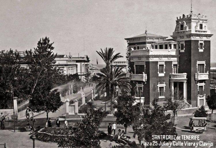 Panorámica del palacete Martí Dehesa