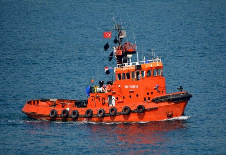 """El remolcador """"Horoz"""" se ha hecho cargo del remolque del congelador """"Baffin Bay"""""""