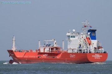 """Este es el buque gasero """"Scali San Lorenzo"""""""