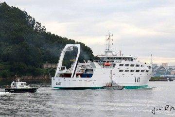 """El buque de cooperación pesquera """"Intermares"""" (A 41)"""