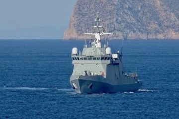 """EL BAM """"Furor"""" se aproxima al puerto de Cartagena"""