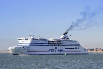 """""""Cap Finisterre"""", uno de los barcos de Britanny Ferries"""