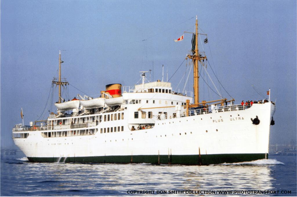 "Estampa marinera del buque ""Plus Ultra"" (1928-1976)"