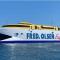 """El catamarán """"Benatgo Express"""", preparado para su reincorporación"""
