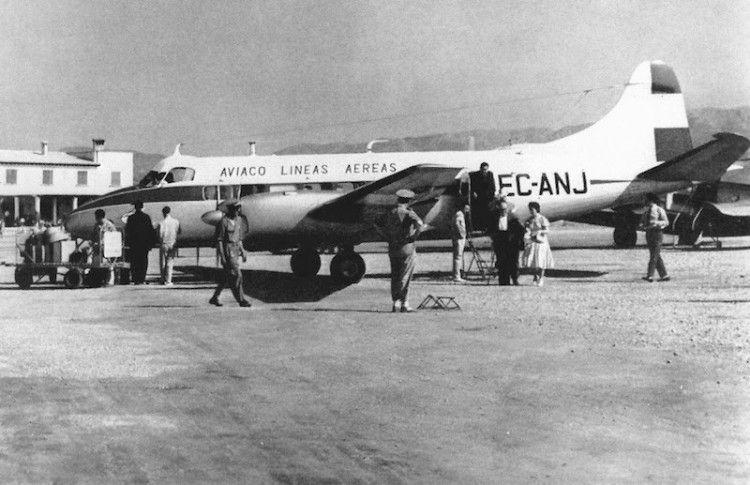 """De Havilland DH-114 EC-ANJ, la última pérdida de los """"jeromines"""" de Aviaco"""