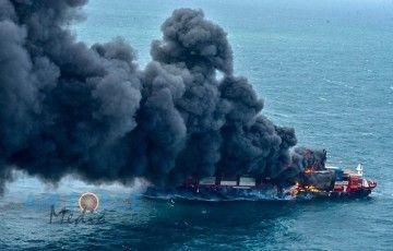 """El buque """"X-Press Pearl"""" entró en servicio hace tres meses"""