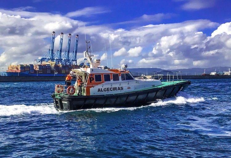 Lancha de prácticos del puerto de Algeciras