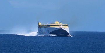 Fred. Olsen utiliza en exclusiva el puerto de Agaete