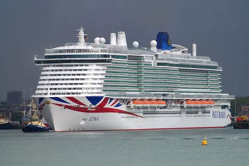 El nuevo buque es el mayor de la industria turística británica