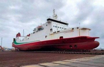 """El buque ro-pax """"Al Andalus Express"""", varado en ASTICAN"""