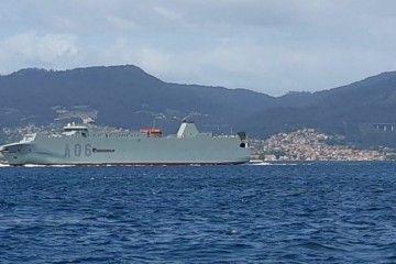 """Esta es la estampa marinera del buque """"Ysabel"""", ex """"Galicia"""" de Suardíaz"""