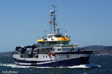"""El buque """"Ángeles Alvariño"""" se encuentra desde hoy en Tenerife"""