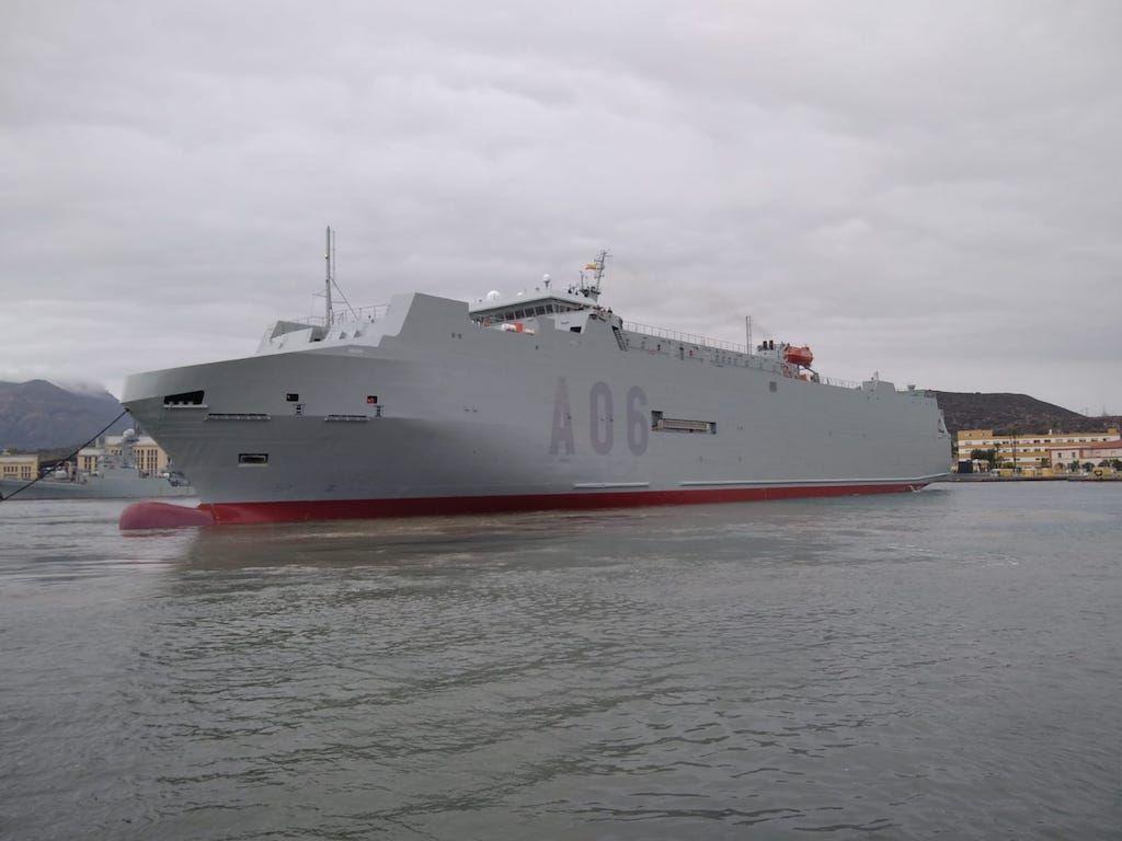 El buque iniciará en breve una nueva etapa al servicio de las Fuerzas Armadas