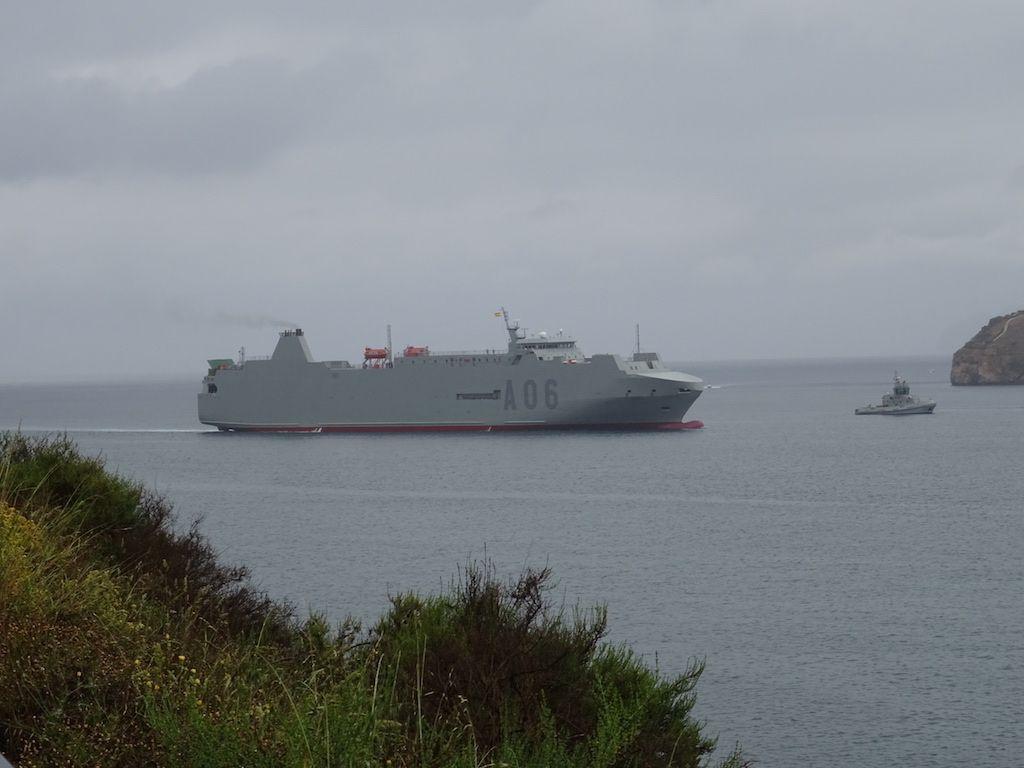 """Se trata del buque """"Galicia"""", procedente de Flota Suardíaz"""