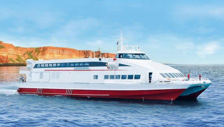 Este es el catamarán de FRS para la línea Ibiza-Formentera