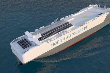 """Imagen de la clase PCTC """"Aurora"""" de Höegh Autoliners"""