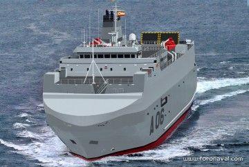"""Este será el aspecto exterior del buque de transporte logístico """"Ysabel"""""""