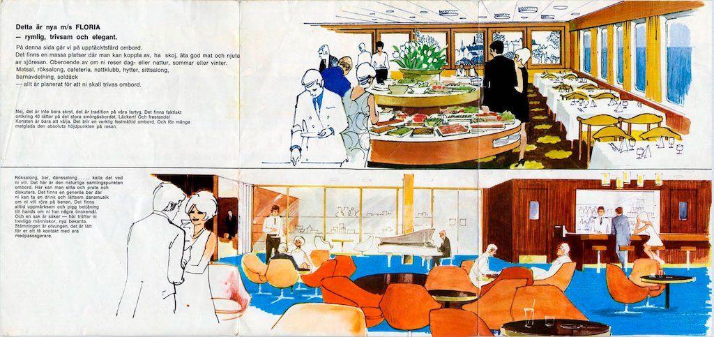 Comedor y salón de proa
