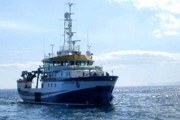 """El buque """"Ángeles Alvariño"""" trabaja en una zona acotada frente a Santa Cruz de Tenerife"""