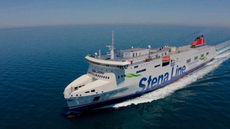 """El buque """"Stena Scandica"""", resultado del alargamiento del buque """"Stena Lagan"""""""