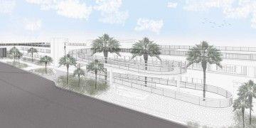 Esta será la disposición de la pasarela del edificio Puerto-Ciudad de Santa Cruz de Tenerife