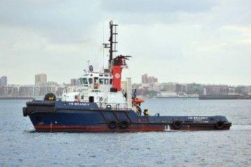 """El remolcador """"VB Brandy"""", en el puerto de Las Palmas de Gran Canaria"""